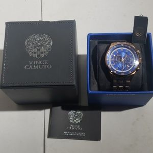 Vince Camuto Men's Rose Gold Watch (no battery)